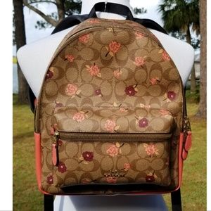 NWT Coach medium Charlie backpack